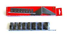 Teng Tools Chiavi a bussola in set, 1cm ANSI standard 8 Pieces 9381