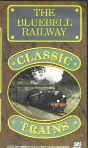 THE-BLUEBELL-RAILWAY-CLASSIC-TRAINS-VHS-PAL-Steam-Railway