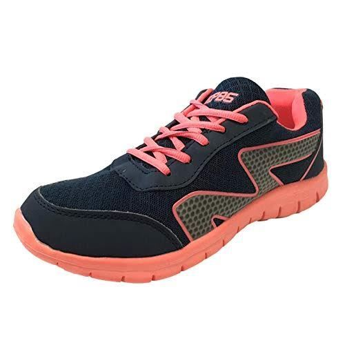 Womens Ladies Mesh Running Trainers Athletic Workout Walk Gym Shoes Sneakers