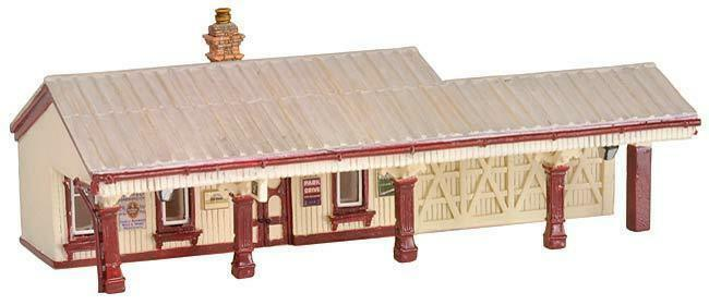 GRAHAM FARISH SCENECRAFT 42-087 N SCALE blubell Waiting Room