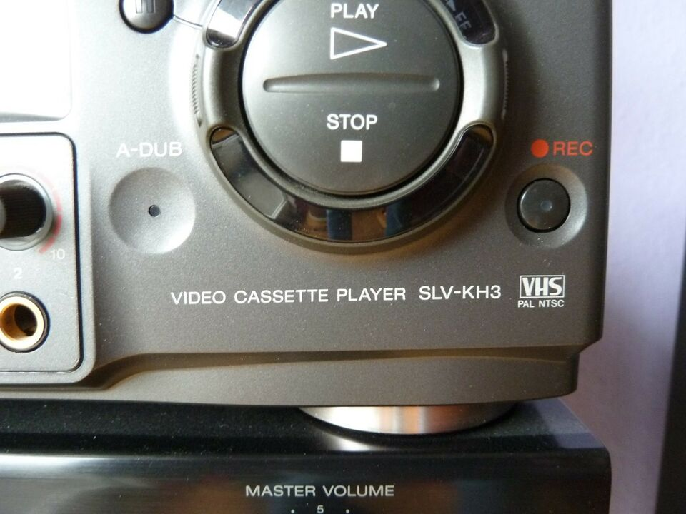 VHS videomaskine, Sony, SLV-KH3