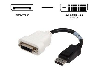 BizLink Display Port-DP  to DVI Adapter Cable for Dell 023NVR