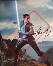 Daisy Ridley Star Wars Signed 8x10 Autographed Photo Reprint