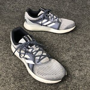 0ccd9bd02 Adidas Aero Bounce ST Gray   Blue Running Shoes Mens Size 12 In EUC ...