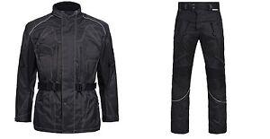Motorradkombi-2-tlg-Jacke-mit-Hose-Cordura-Textil-Kombi-M-bis-4XL-SCHWARZ-12