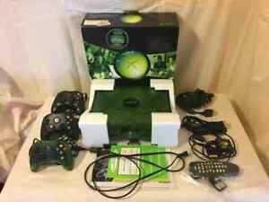 Translucent-Green-Xbox-CIB-with-extras