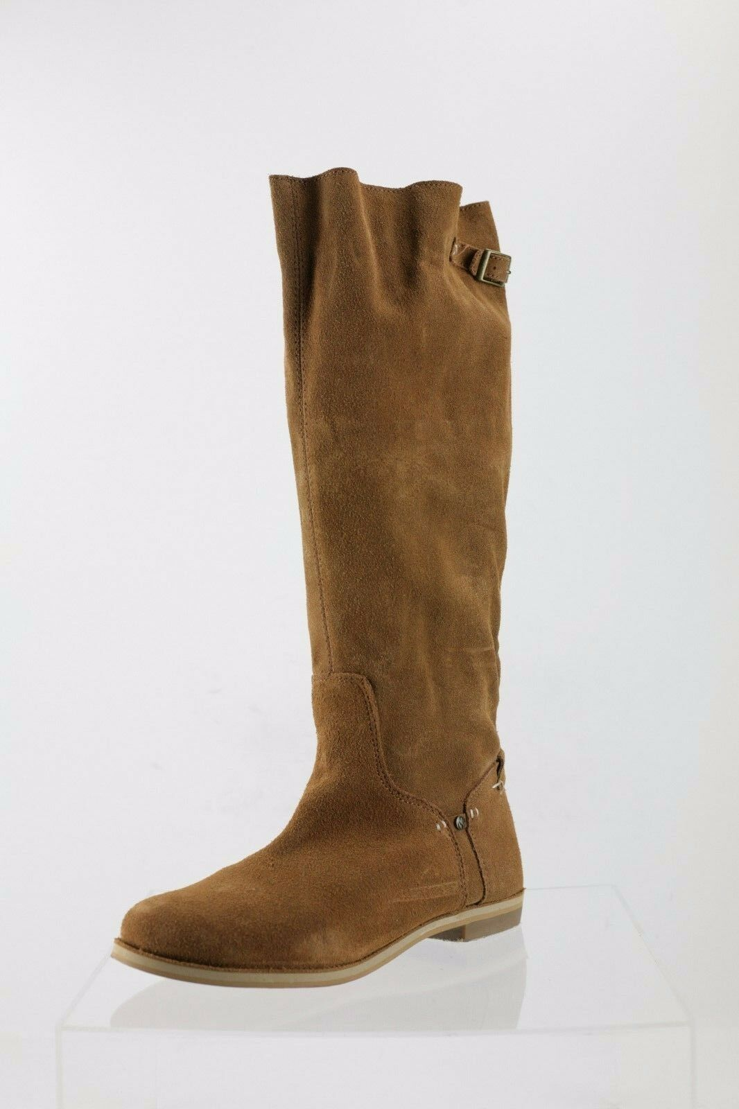 Reef High Desert Brown Suede Knee High Boots Women's shoes Size 9 M NEW