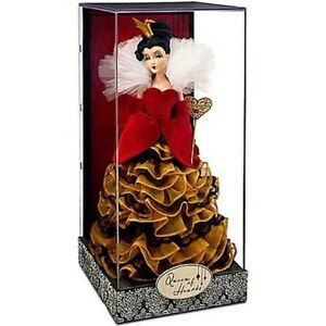 DISNEY-QUEEN-OF-HEARTS-DESIGNER-DOLL-LIMITED-EDITION-NEW