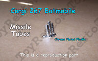 Corgi 267 Batmobile Chromed Missile Tubes - Restoration Part