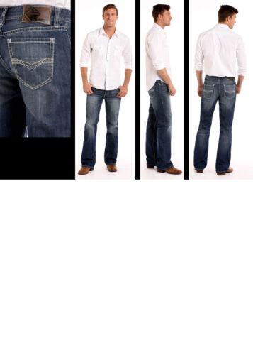 Rock /& Roll Cowboy Men/'s Double Barrel Relaxed Fit Bootcut Jeans M0D5115