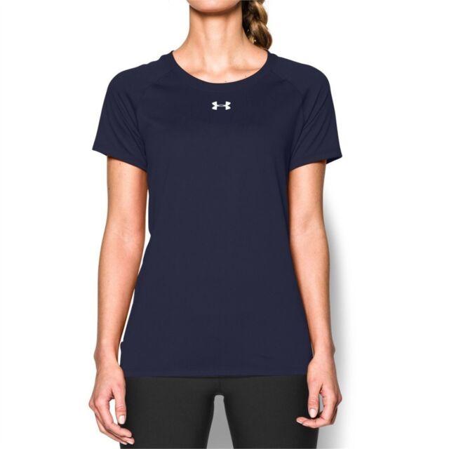 923eab479057 Under Armour Womens Locker T Navy Blue Short Sleeve XL 1268481 for ...