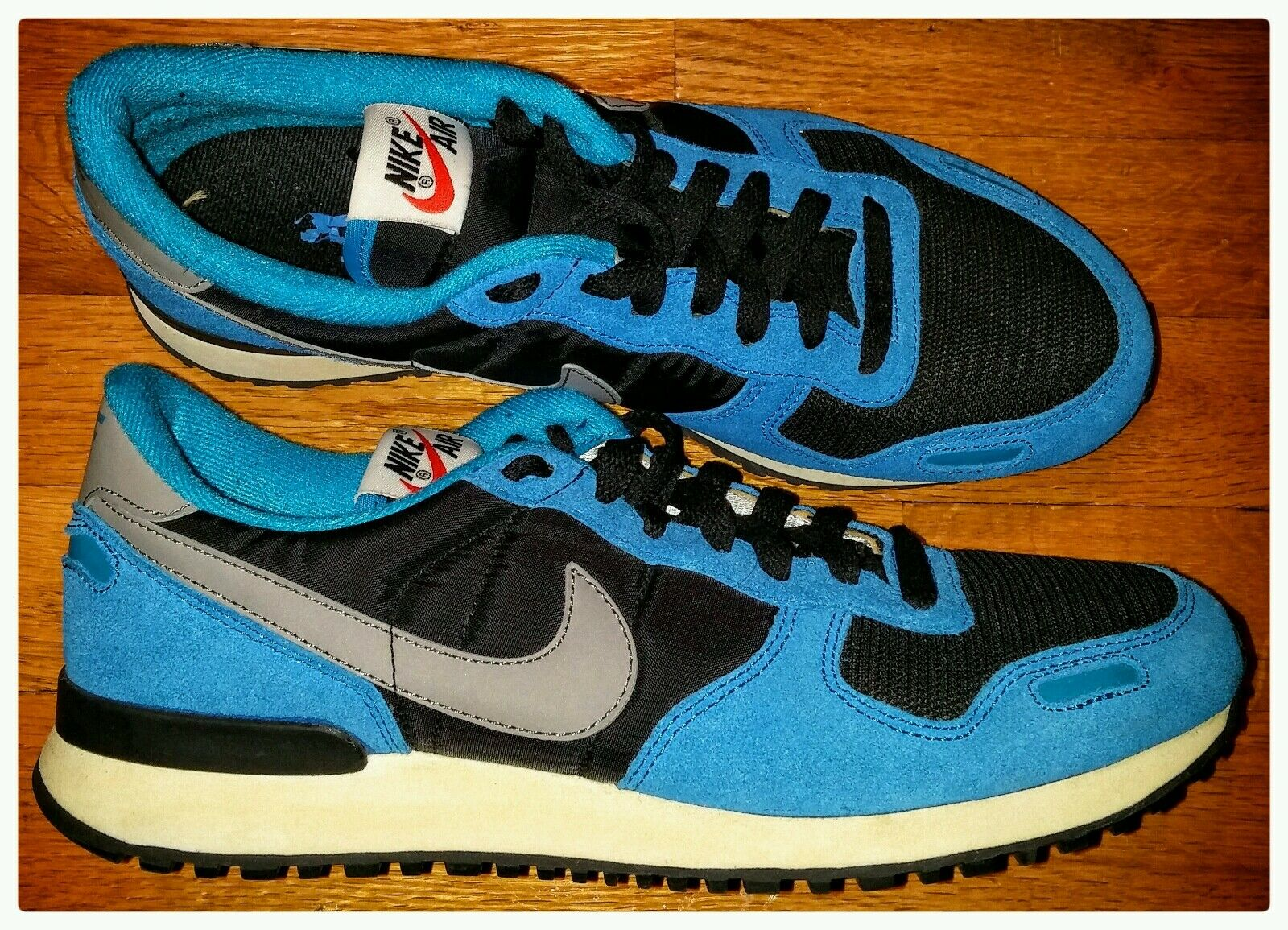 SAMPLE NIKE AIR VORTEX RETRO Running Mens 9 vintage trainer racer nsw panthers