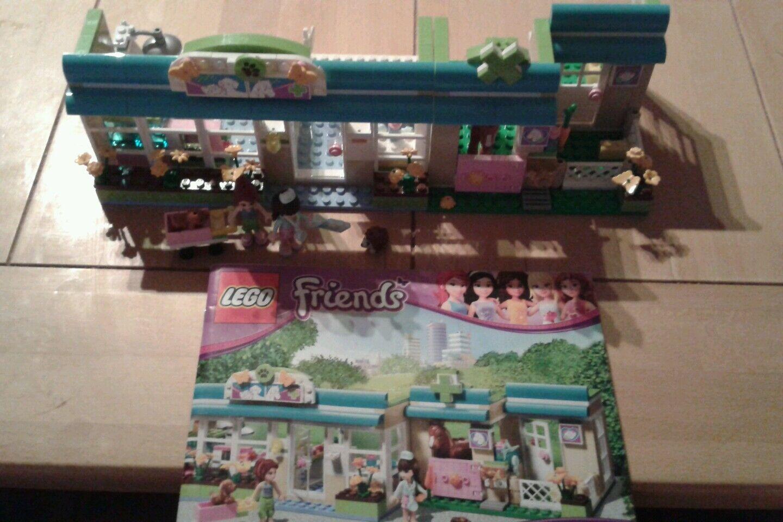 LEGO Mädchen Friends 3188 - Tierklinik komplett komplett komplett mit Bau Anleitung 43436d