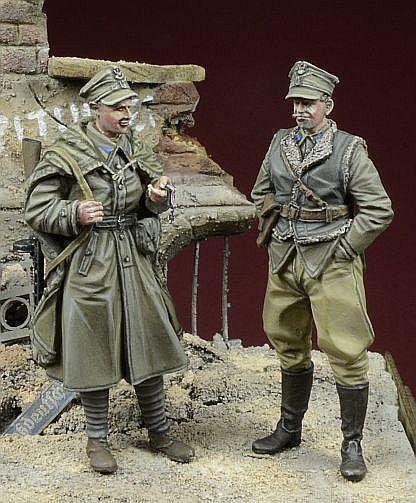 1 35 Escala Resina Modelismo Kit Ww2 Polaco Lwp Soldados, Berlín 1945
