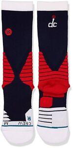NWT Stance Official NBA Washington Wizards DC Logo 559 Basketball Sock Crew
