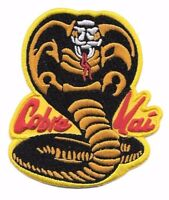 Karate Kid Cobra Kai 3 3/4 Tall Embroidered Costume Patch