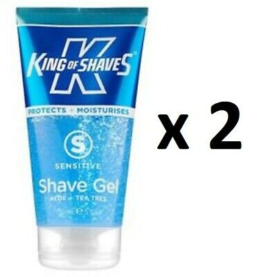 Shaving & Hair Removal Arbre à Thé King Of Shaves 150 Ml Chacun /ebem Orders Are Welcome. Health & Beauty Lot De 2 Gel De Rasage Aloe