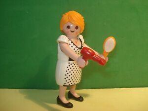Playmobil-9268-Frau-Secandose-der-Haare-Zustand-Neu