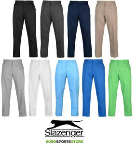 NEW-Slazenger-Mens-Golf-Pants-Regular-Fit-Sport-Casual-Trousers-Bottoms
