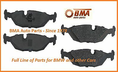 Rear BMW E30 E28 E24 E23 318i 325e 325i Disc Brake Pad Set ATE 34211158912