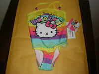 Hello Kitty Size 5 Girls Bathing Suit With Tag