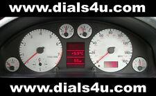 AUDI A4 (B5) 1994-1997 - 140mph / 160mph (Petrol or Diesel) - WHITE DIAL KIT