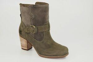 Timberland-Botines-EK-rudston-Medio-Boots-Waterproof-mujer-Zapatos-Botas-Nuevo