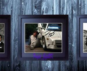 Leonardo-DiCaprio-Wolf-Of-Wall-Street-SIGNED-AUTOGRAPHED-FRAMED-10x8-REPRO-PHOTO