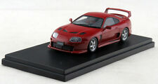 1/43 Hi-Story Toyota Supra 3000GT TRD Turned Version 2001 Red HS108RE