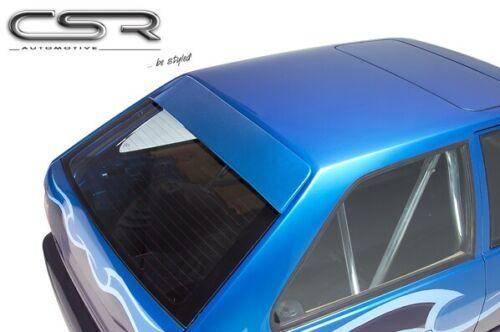 Heckscheibenblende für VW POLO 86C 2F aus ABS Dachspoiler Spoiler Blende CSR
