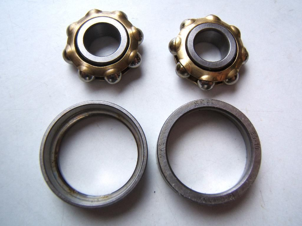 Maxi car set of 2 bearings skf for  standard hub vintage parts 90's  high quality