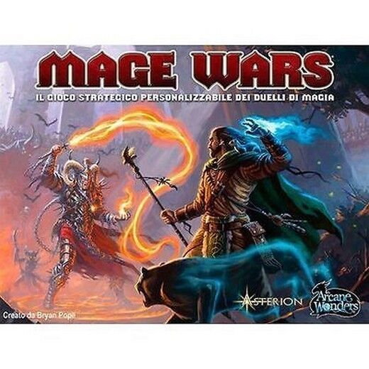 Mage Wars - Jeu de table Fantasy - Neuf, Italiano