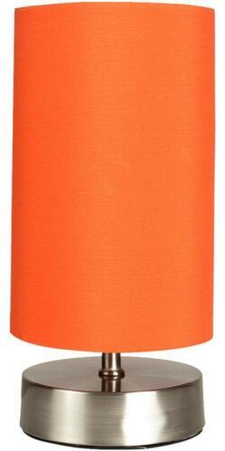 Orange Shade-Minisun Francis Touch Lampe de bureau