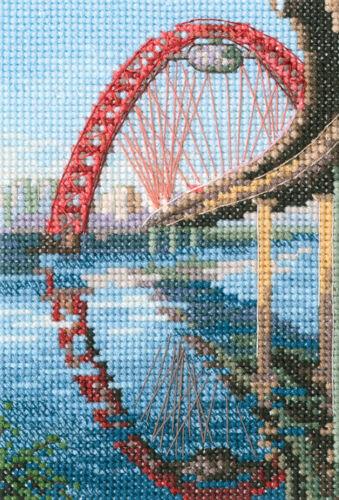 "Counted Cross Stitch Kit RTO C310 /""Picturesque bridge/"""