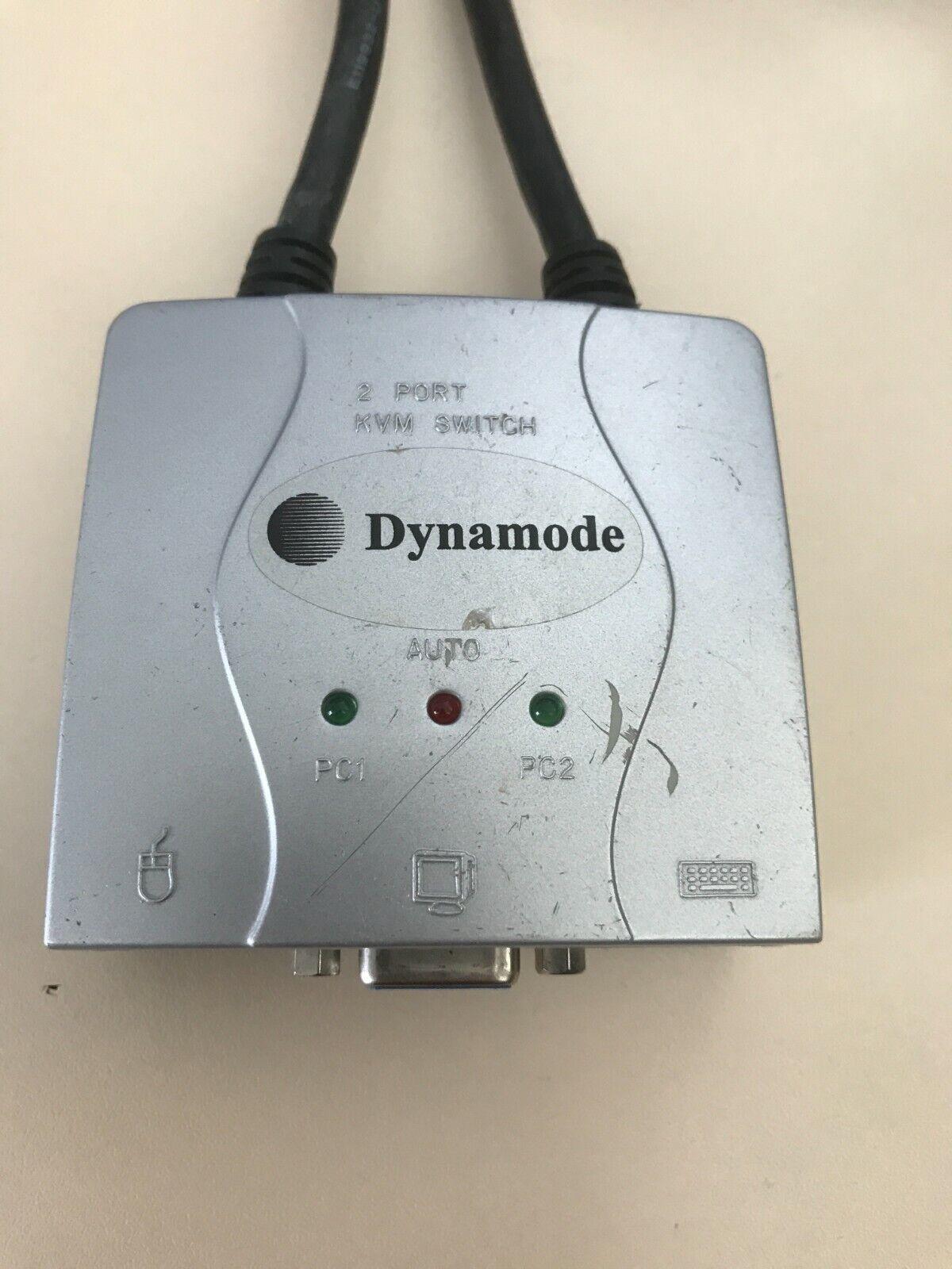 Dynamode 2 Port KVM Switch