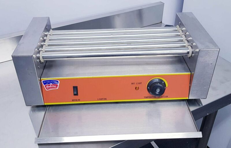 HOT DOG MACHINE – HOT DOG ROLLER – HOT DOG MAKER FOR SALE – ELECTRIC SAUSAGE ROLLER