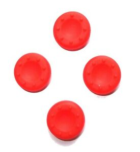 4x-Replacement-Red-Silicone-XBOX-360-Controller-Thumbstick-Covers-UK-Seller