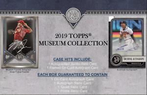 2019-TOPPS-MUSEUM-COLLECTION-BASEBALL-RANDOM-PLAYER-1-BOX-BREAK