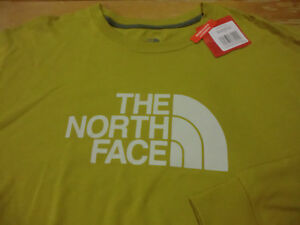 d0225380f Details about North Face Half Dome Logo L/S T-Shirt, NWT -Mens XL -Standard  Fit Mustard Yellow