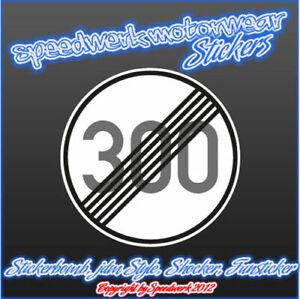 Tuning Sticker Car Fun Sticker Shocker Decal 300 km//h