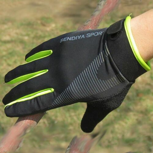 Breathable Full Finger Gloves Touchscreen MTB Bike Cycling Bicycle Sports Racing