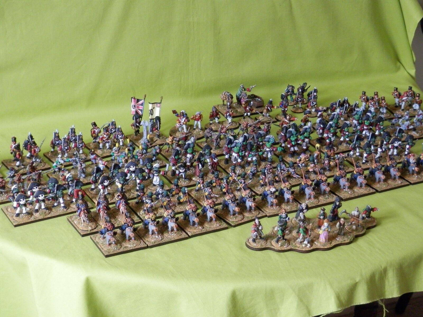 Flintloque SLAUGHTERLOO armées peintes modèles de nombreux à choisir multi annonce