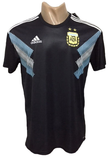 Argentina Away Messi Soccer Jersey World Cup adidas Size L