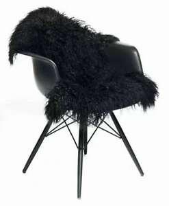 100-Real-Mongolian-Fur-Throw-Tibetan-Lambskin-Rug-Curly-Hair-Carpet-Hide-Pelt