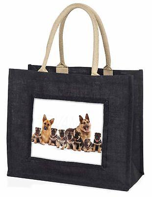 Schäferhund Hunde große schwarze Einkaufstasche Weihnachten