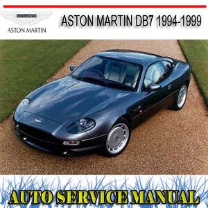aston martin db7 1994 1999 repair service manual dvd ebay rh ebay com au aston martin db7 owners manual aston martin db7 repair manual