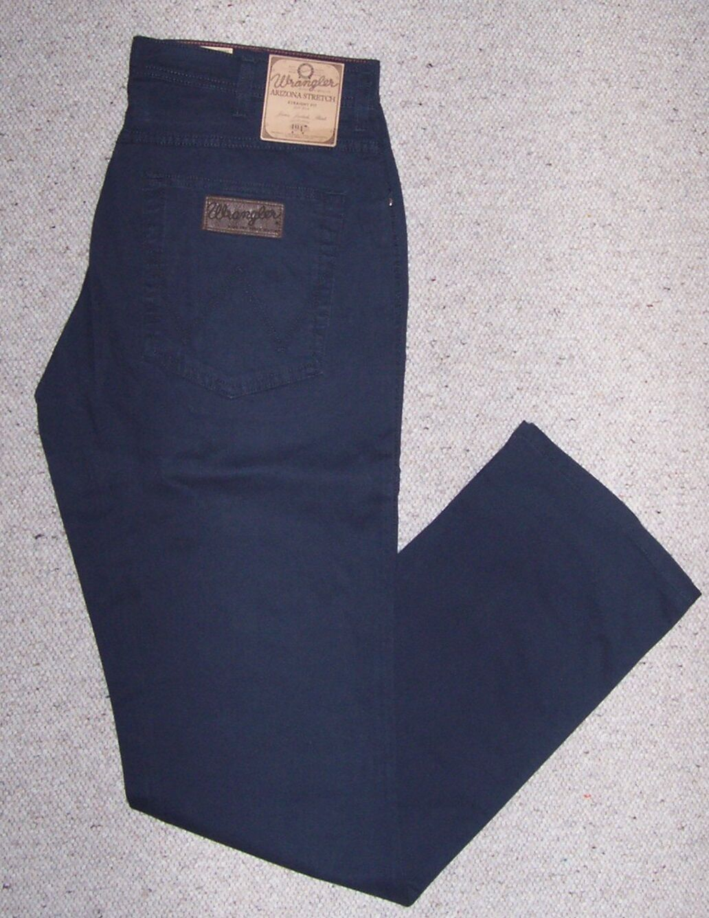 WRANGLER jeans ARIZONA Cotone Leggero Stretch BLU BLU BLU Tg.W35 L34 74bb61