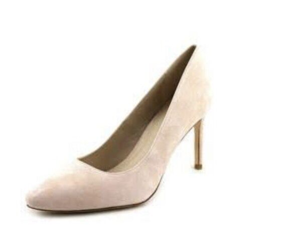 New With Box Cole Haan Bethany Pump .85 Seashell Pink Suede Heels Size 10