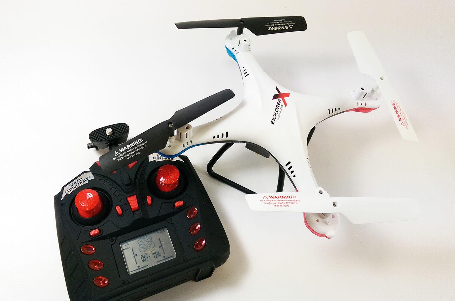 Radio Control 6-Axis Gyro Quadcopter Drone WIFI HD Camera FPV Spy Photo Drone
