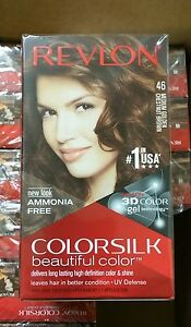 Image Is Loading X12 Revlon Colorsilk Hair Color 46 Medium Golden